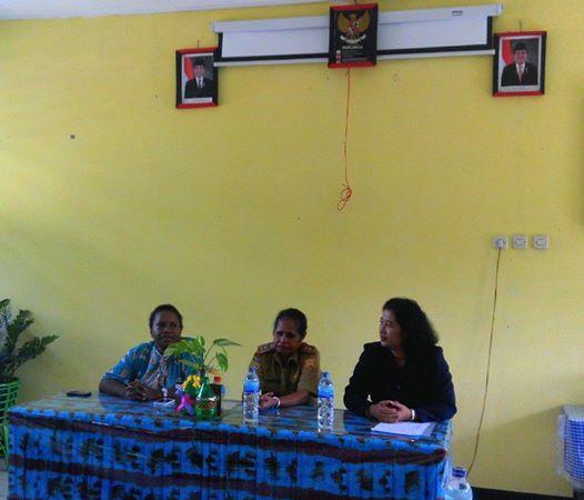 Kunjungan Media Ke SD Negeri Entrop Jayapura (KINERJA USAID)