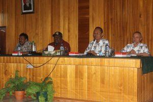 osialisasi Rencana Aksi Pencegahan Korupsi Terintegrasi Pemerintah Kabupaten Nabire Tahun 2017-2018