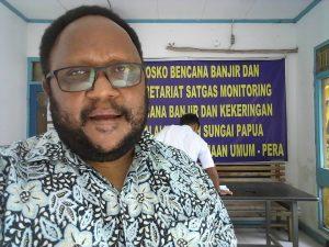 Ketua Dewan Adat wilayah Mee Pago John Gobay