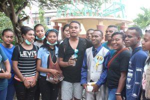 Peserta dari Kontingen Kabupaten Nabire