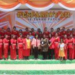 Bupati Fakfak Melepas Peserta Pesta Paduan Suara Gerejawi