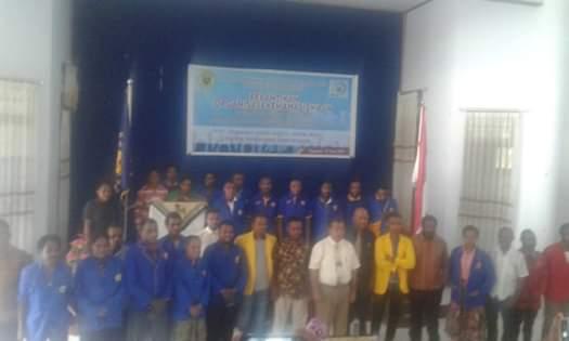 Dekan FKIP Uncen Lantik DPMF dan BEM Fakultas Masa Bakti 2019-2020